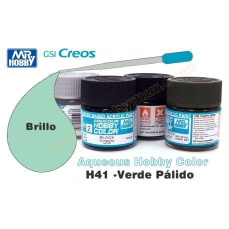 H41-Verde pálido Brillo