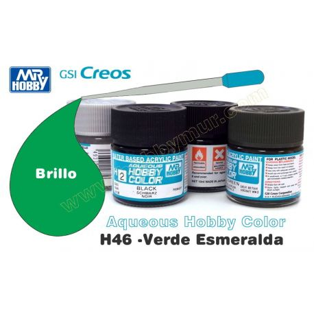 H46-Verde esmeralda Brillo