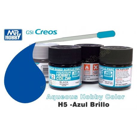 H5-Azul Brillo