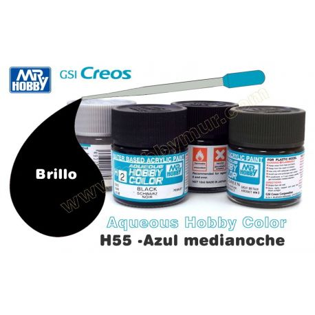 H55-Azul medianoche Brillo