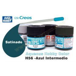 H56-Azul Intermedio Satinado