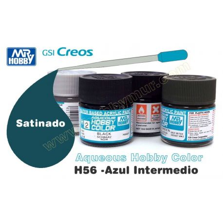 H56-Azul Intermedio Satinado