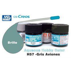 H57-Gris Aviones Brillo