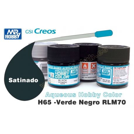 H65-Verde Negro RLM70