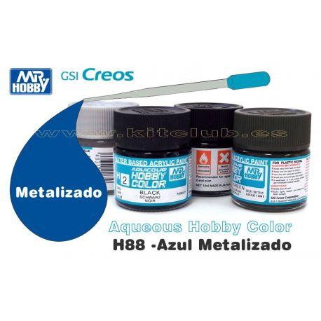 H88-Azul Metálico