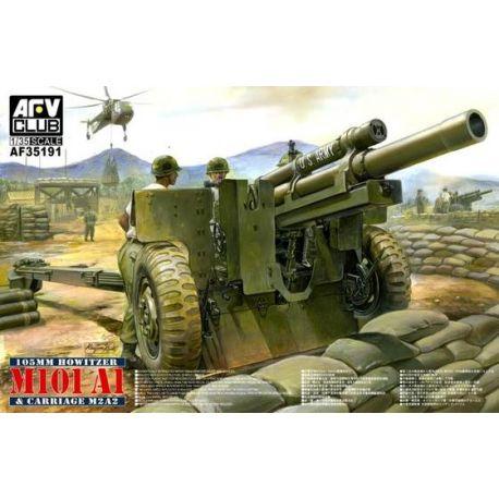 Cañon Remolcable M101 A1 (105mm)