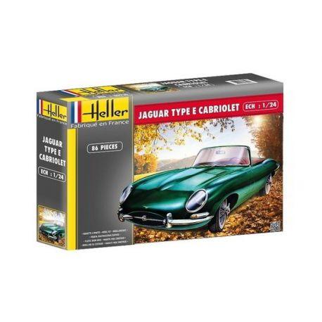 Jaguar Type E 3L8 OTS Cabriolet 1:24