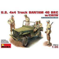 Jeep Bantam 40 BCR con Tripulación