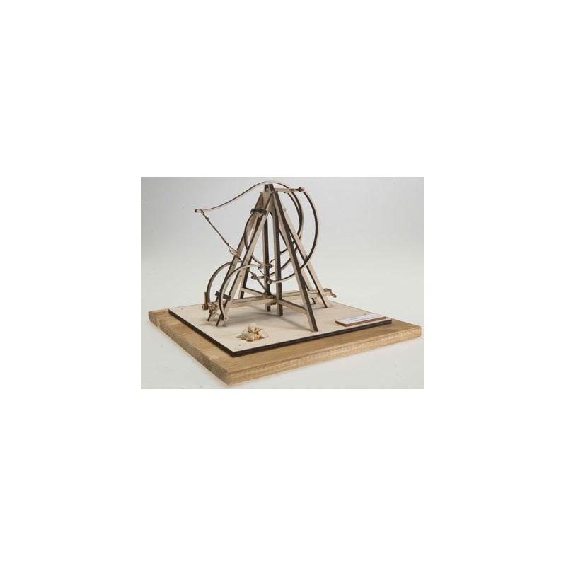 Catapulta leonardo da vinci maqueta de madera revell for Catapulta di leonardo da vinci