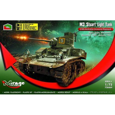 "M3 ""STUART"" Light Tank 2/6th Australian Armoured Regiment"
