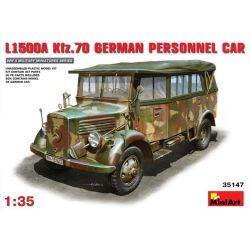 Mercedes Benz L1500A Kfz.70 - Personnel Car