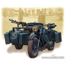 Moto con Sidecar Alemana WWII - BMW R75