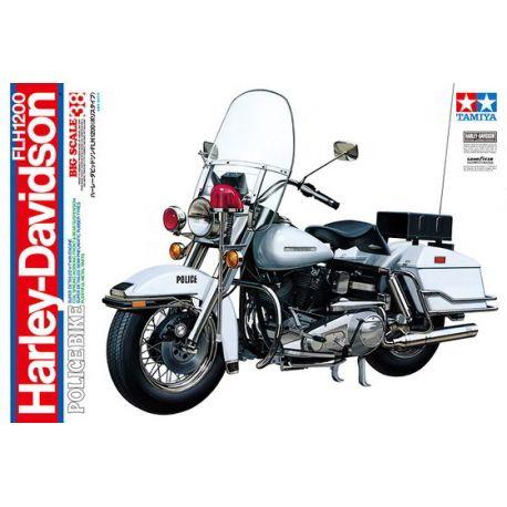 Moto de Policia Harley-Davidson FLH 1200