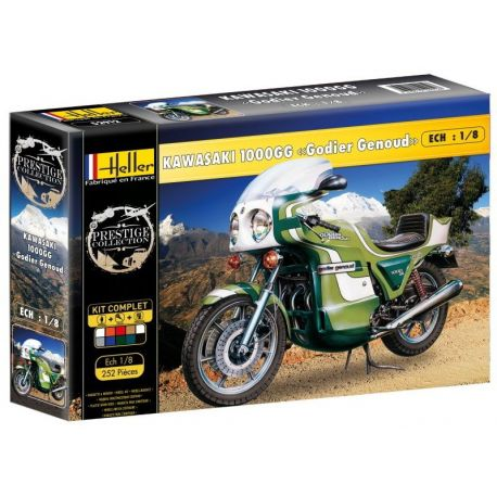 Moto Kawasaki 1000 GG - Godier Genoud