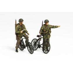 Paracaidistas Ingleses con Bicicletas