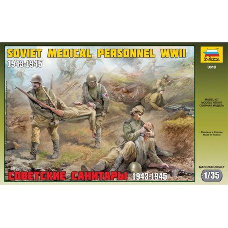 Personal Médico Soviético WWII