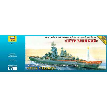 Piotr Velikiy Russian cruiser