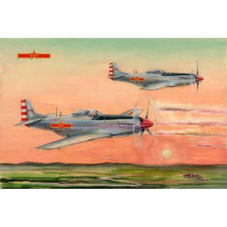 PLAAF P-51D/K Mustang