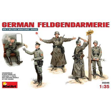 Policias Militares Alemanes (Feldgendarmerie)