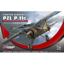PZL P.11c - Con fotograbados