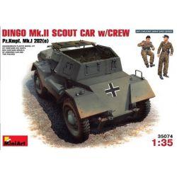 Dingo Mk.II Scout Car + Tripulación