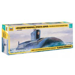 Russian Nuclear Submarine Borey-class