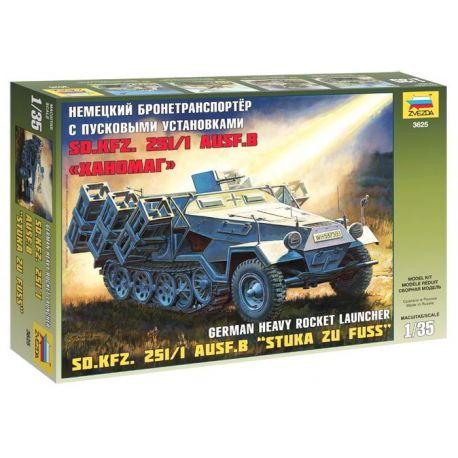 Sd.Kfz. 251/1 ausf.B - Stuka zu Fuss
