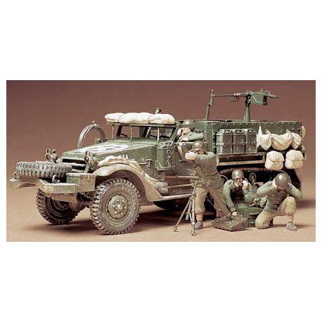 Semioruga USA M21 Transporte de Mortero