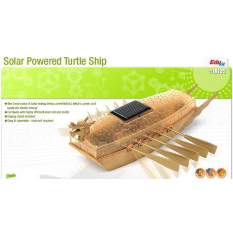 Solar Powered Turtle Ship