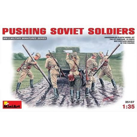 Soldados Soviéticos Empujando
