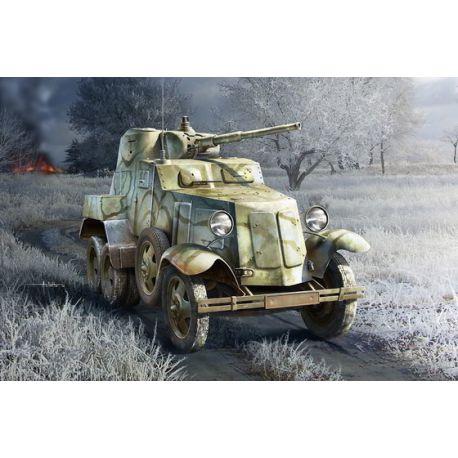 Soviet BA-10 Armor Car