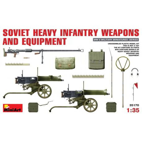 Soviet Heavy Infantry Weapons & Equipment