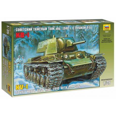 Soviet heavy tank KV-1 mod. 1940