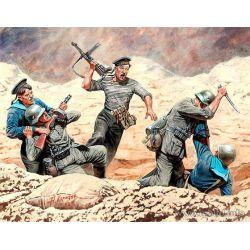 Soviet Marines and German Infantry, Hand-to-Hand Combat