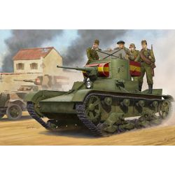 Soviet T-26 Light Infantry Tank Mod.1935 - Calcas Españolas
