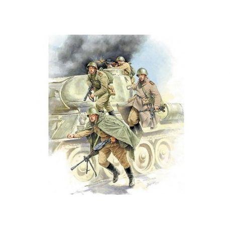Soviet Tank Infantry WWII