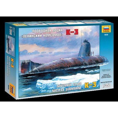 "Submarino Soviético K-3 ""Leninsky Komsomol"""