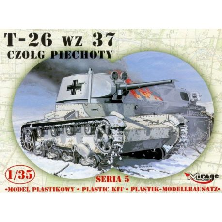 T-26 Russian light tank wz 37
