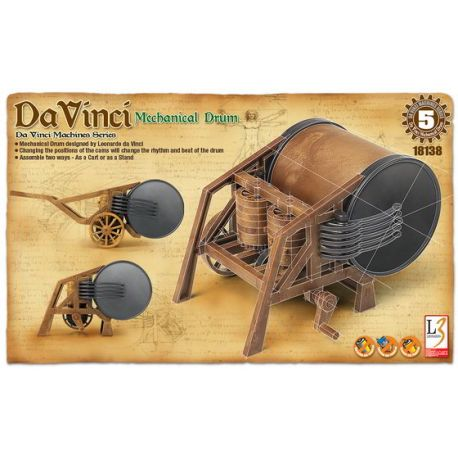 Tambor Mecánico - Leonardo da Vinci