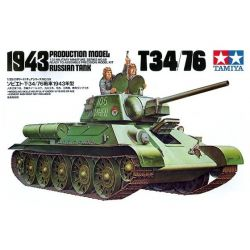 Tanque Ruso T-34/76 1943