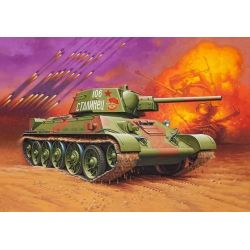 Tanque Ruso T34/76 - 1943