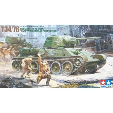 Tanque Ruso T34/76 1:35