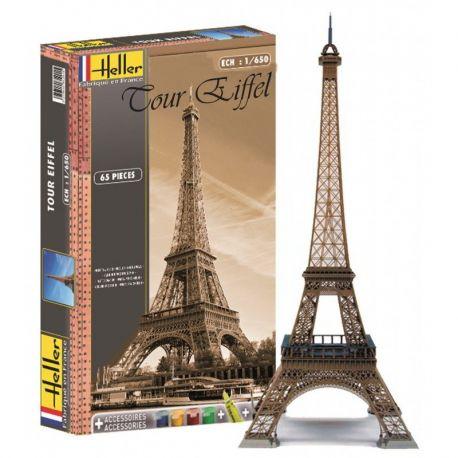 Torre Eiffel -Set con pinturas y pegamento