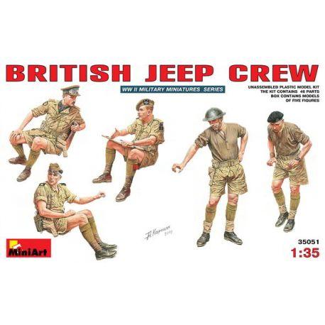Tripulación Jeep Británico
