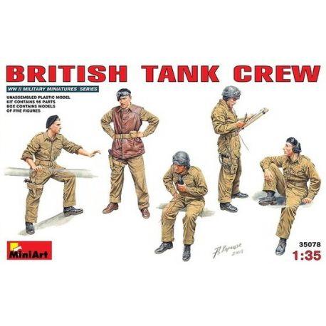 Tripulación Tanquistas Británicos