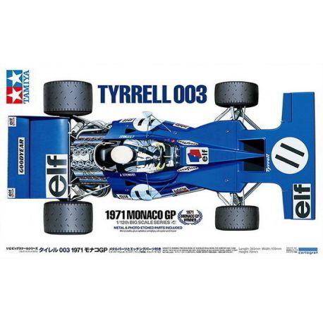 Tyrrell 003 1971 Monaco GP