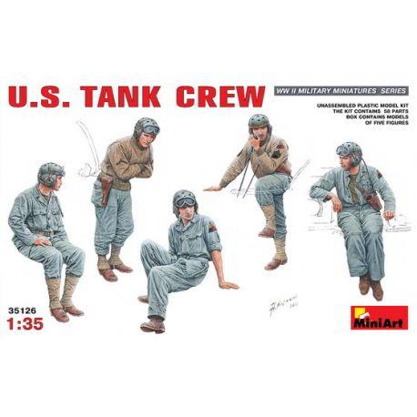 U.S. Tank Crew (5 figuras)