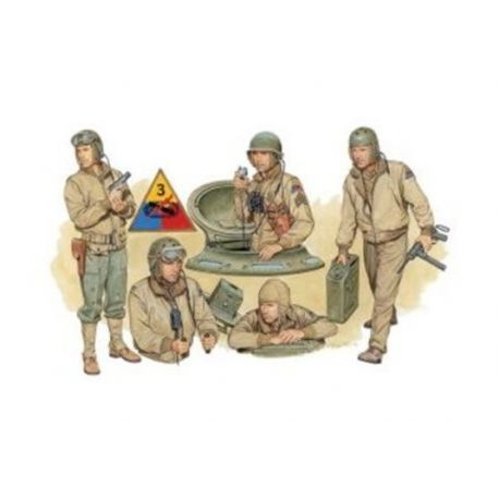 U.S. Tank Crew - NW Europe 1944