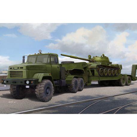 Ukraine KrAZ-6446 Tractor Semitrailer
