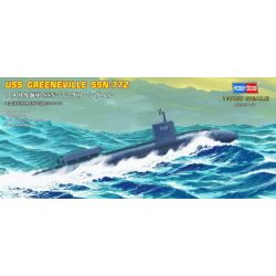 USS Greeneville SSN-772 attack submarine